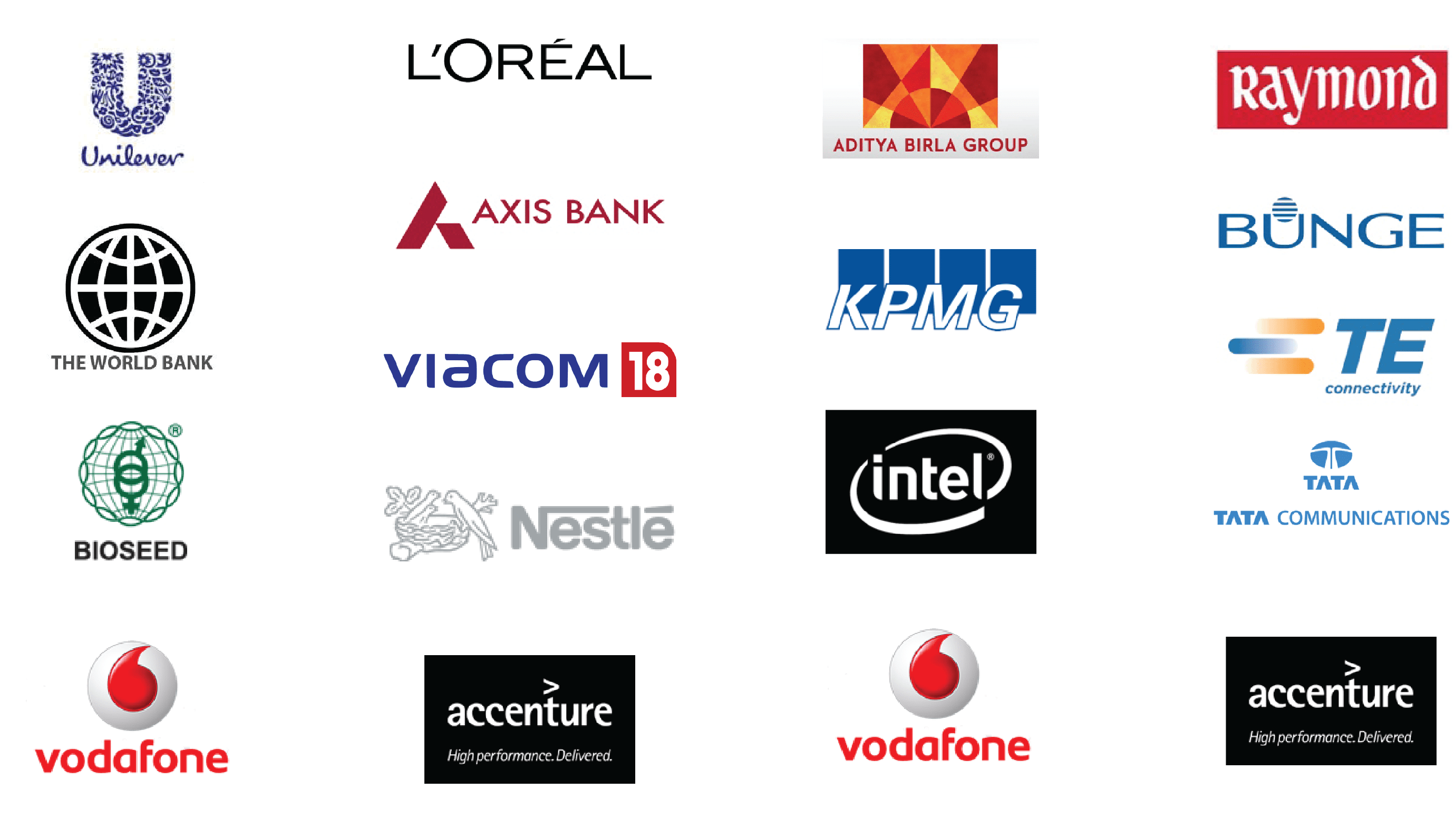 Our Clients - Recent Projects